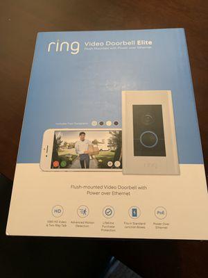 Video Doorbell Elite for Sale in Hermon, ME