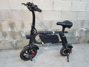 Swagcycle Pro Swagtron Electric Bike Scooter Black for Sale in Baldwin Park, CA
