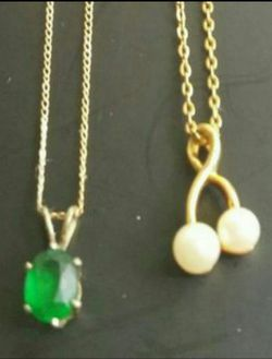 ANTIQUE GOLD NECKLACES for Sale in Chicago,  IL