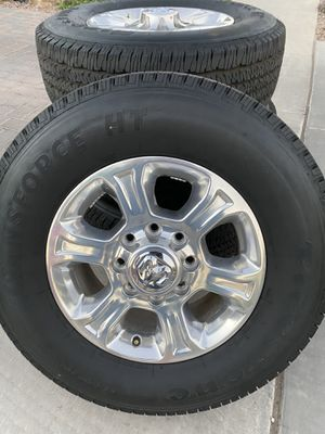 Wheels and tires for Ram HD 275/70/18 for Sale in Queen Creek, AZ