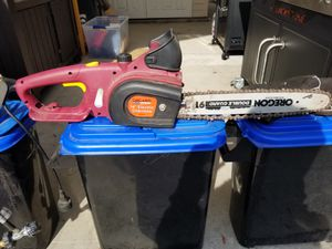 Chicago Electric - 14 inch electric chainsaw for Sale in Carson, CA