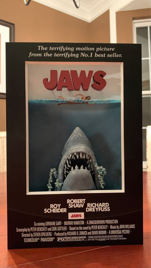 McFarlane Toys 3D Movie Poster - Jaws Action Figure for Sale in Evesham Township, NJ