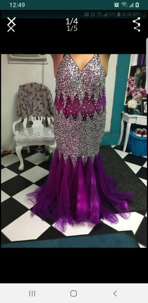 Mermaid style bling plus size dress for Sale in Pico Rivera, CA