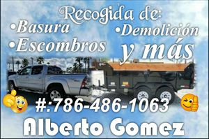 Recogida de basura,escombros,demolición y más. for Sale in Hialeah, FL