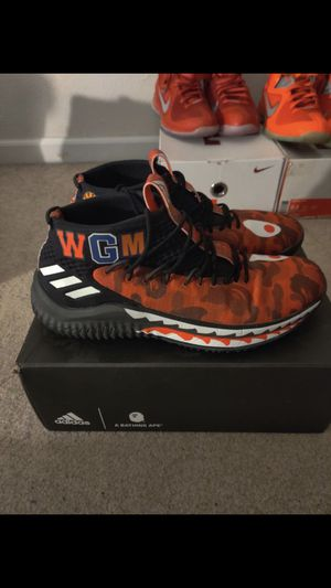 Adidas Dame4 Bape for Sale in Tampa, FL