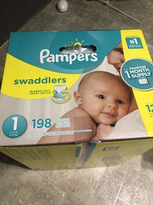 Pampers size 1, 198ct for Sale in Beaverton, OR