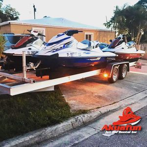 Jet ski jetski yetski yet ski Yamaha ExSport VX Seadoo Spark boat wave runner trailer poralis slingshot for Sale in Hollywood, FL