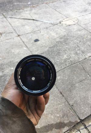 Vintage Canon Camera Zoom Lens for Sale in Philadelphia, PA
