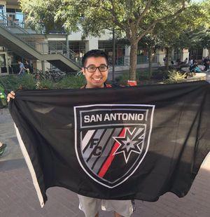 San Antonio FC Flag! SOLD for Sale in Houston, TX