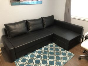 Sleeper Sectional with Storage for Sale in Miami Gardens, FL