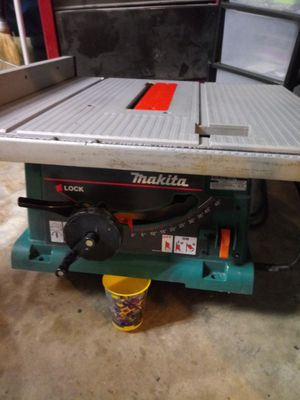 """Makita 10"""" table saw for Sale in Rowlett, TX"""