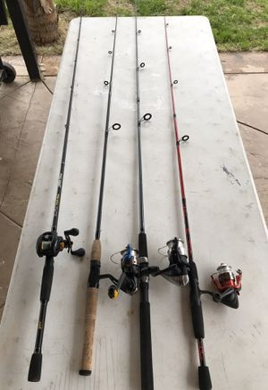 Fishing rods for Sale in Bloomington, CA