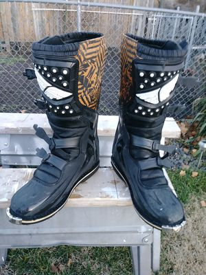Motorcycle boots for Sale in Athena, OR