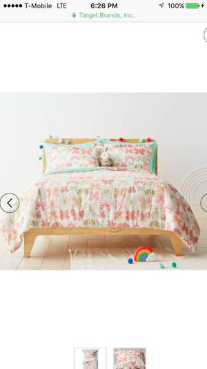 Full/queen butterfly duvet cover from Pillowfort for Sale in Silver Spring, MD
