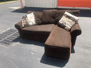 Brown sectional free delivery for Sale in Trenton, NJ