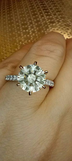 2.35 carat certified diamond engagement solitaire ring for Sale in Atlanta, GA
