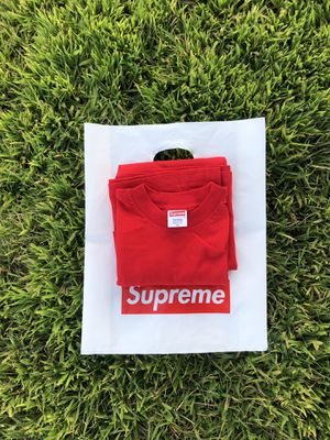 Supreme Red Blank Tee for Sale in Canyon Lake, CA