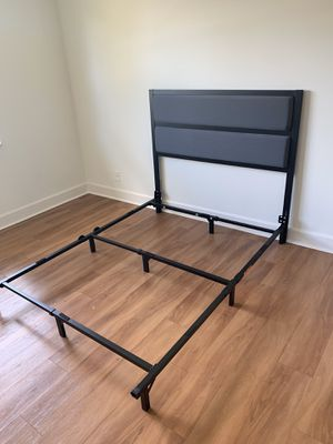 Brand new GRAY AND BLACK bed frame FREE DELIVERY twin 155 full 175 queen 185 for Sale in Hollywood, FL