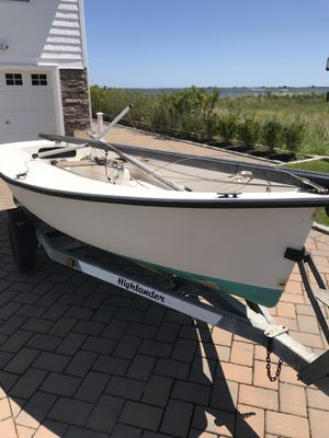 15ft Sailboat with trailer & 2 sets of beautiful Sails! for Sale in The Bronx, NY