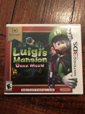 Luigi's Mansion 3Ds Game (used-Like New) for Sale in Chicago, IL