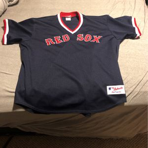 Red Sox Men's Baseball Jersey Mesh for Sale in Vernon Hills, IL