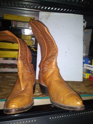 Snakeskin boots for Sale in Everett, WA
