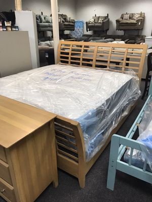 King bed frame and dresser for Sale in Midway Park, NC