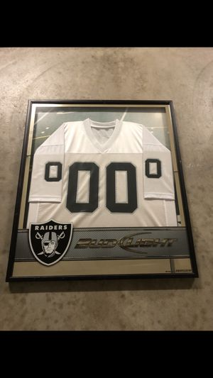 RAIDERS FRAMED JERSEY $100 FIRM for Sale in Fresno, CA
