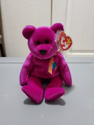 TY Beanie Baby... Millennium bear for Sale in Tacoma, WA