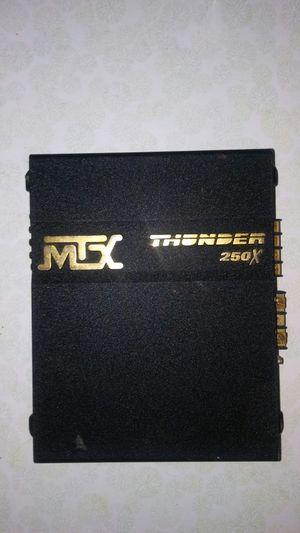 MTX Thunder 250x amp for Sale in Tampa, FL