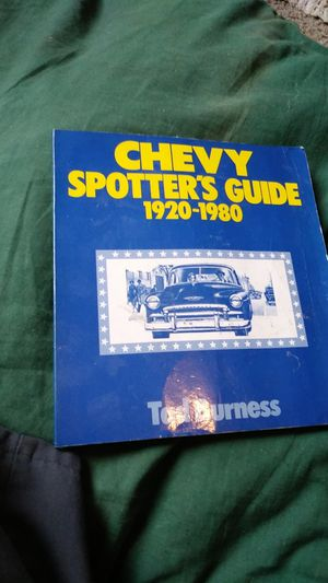 Chevy spotters guide./20 s/1980. for Sale in Hayward, CA