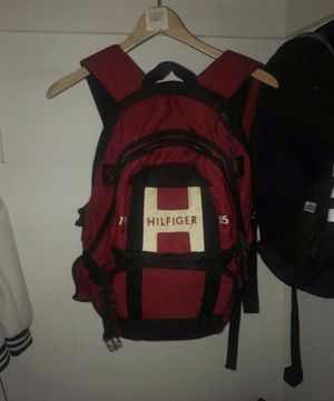 Red Tommy Hilfiger backpack ( Size medium) for Sale in Annandale, VA
