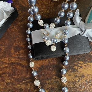 Bloomingdales Gray Pearl Set for Sale in Glendora, CA