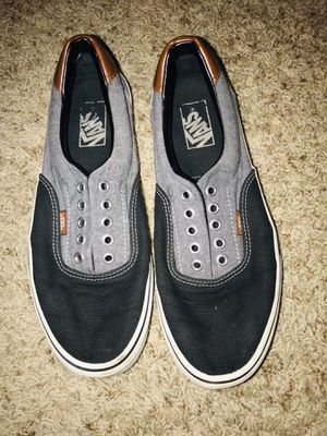 Black/grey Vans for Sale in Corpus Christi, TX