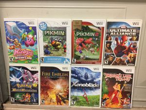 Nintendo Wii Quality Titles Games For Sale *Prices Incoming* for Sale in Austin, TX