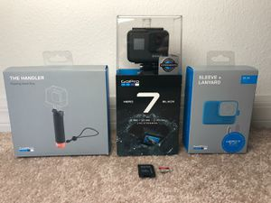 GoPro Hero 7 Black & Accessories for Sale in Kissimmee, FL