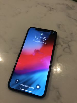 iPhone X 64GB Unlocked for Sale in Monterey Park, CA
