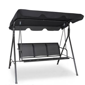 Outdoor Patio Swing 3 Person Canopy Chair Hammock for Sale in Boston, MA