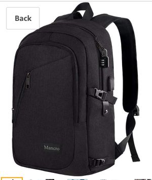 Brand new- Anti Theft Business Laptop Backpack with USB Charging Port for Sale in Nashville, TN