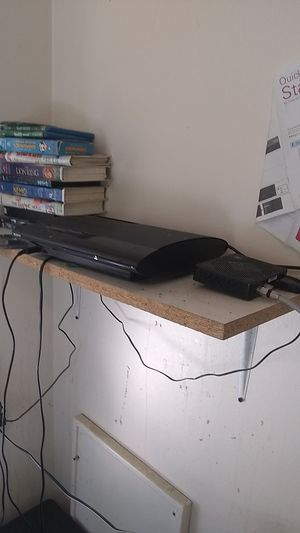 PlayStation 3 with the cords that go with it and a PlayStation 3 controller for Sale in Appleton, WI