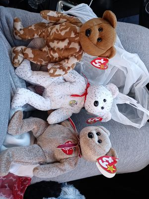 TY beanie baby BUNDLE for Sale in Pawtucket, RI