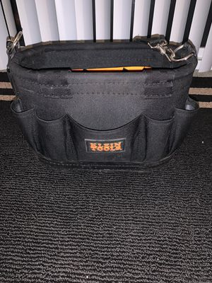 Klein tools strap tool case for Sale in Westfield, IN