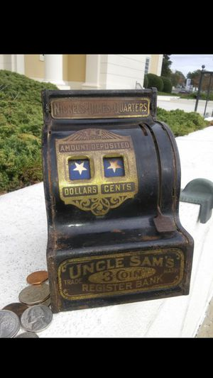 BLUE STAR: Vintage Coin Bank Collection 4 of 5 for Sale in Raleigh, NC