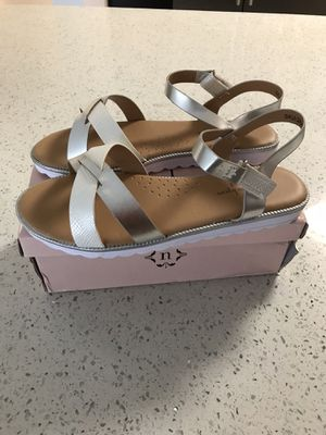 Brand new Girls sandals size4 . Made by Nanette Lepore. for Sale in North Miami Beach, FL