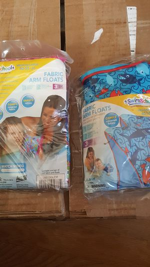 Aqua Swim School Fabric Arm Floats for Sale in Chicago, IL