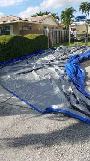 Tarp blue. Cover 30x40 for Sale in Miami, FL
