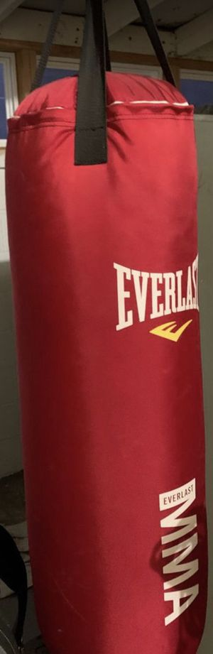 🥊MMA Punching Bag, 70lbs. speed rope & MMA gloves! New in the box.FIRM PRICE! for Sale in Irvine, CA