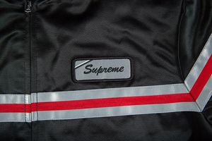 Supreme Reflective Stripe Work Jacket for Sale in Brambleton, VA