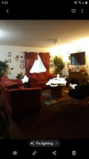 2 peice red living room set for Sale in Crewe, VA