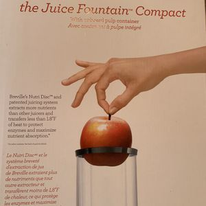 Breville Juice Fountain Compact for Sale in Los Angeles, CA